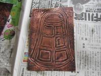 銅鐸レリーフ